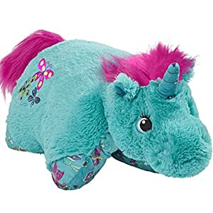 Amazon.com: Pillow Pets Colorful Teal Unicorn - 18 ...