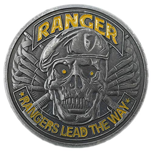 HS Army Rangers Lead The Way Challenge Coin, Military Coins with Gift Box