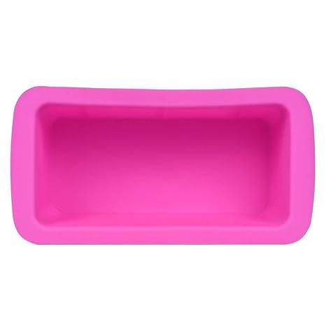 Molde de silicona para pasteles, molde para horno, horno rectangular, diseño de Jamicy