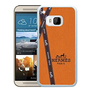 Popular HTC ONE M9 Case, Beautiful Designed Case With Hermes 7 White HTC ONE M9 Cover