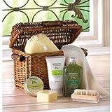 "Koehler SS-KHD-12565 11.375"" Healing Spa Bath Gift Basket"
