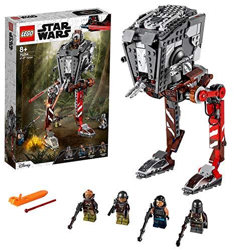 LEGO Star Wars TM - Asaltador AT-ST, Set de Construccion Inspirado en el Mandalorian, Incluye Minifiguras con Armas de la Guerra de las Galaxias, Juguete a partir de 8 anos (75254)