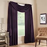 plum window scarf - Midtown Window Scarf Valance in Plum 46 x 216 Top Treatment