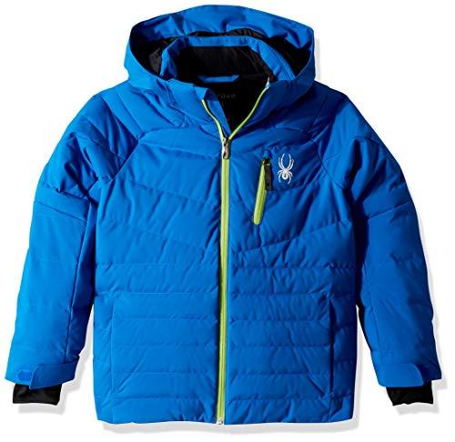 Spyder Boys' Impulse Synthetic Down Ski Jacket, Turkish Sea/Fresh, Size 14