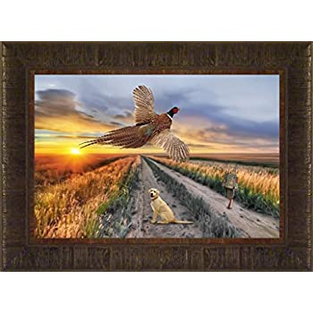 Amazon Com Opening Day By Jim Hansel 17x21 Pheasants