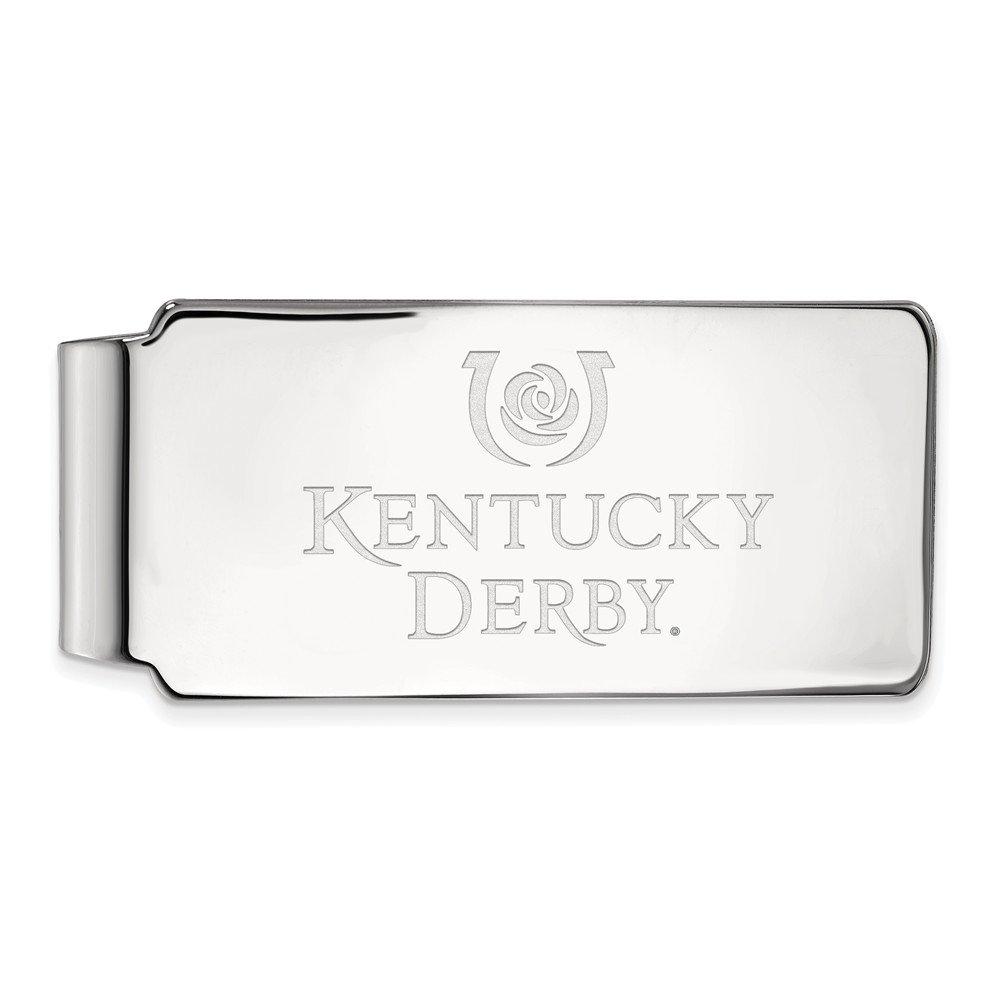 FB Jewels Sterling Silver LogoArt University of Kentucky Money Clip