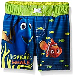 Disney Little Boys Finding Dory Infant Swim Trunk, Blue, 18M