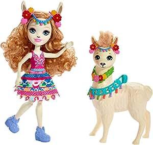 Amazon.com: Enchantimals Lluella Llama Doll & Fleecy