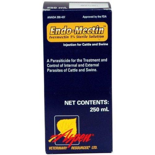 Endo-Mectin – Ivermectin Injection – 250 ml, My Pet Supplies