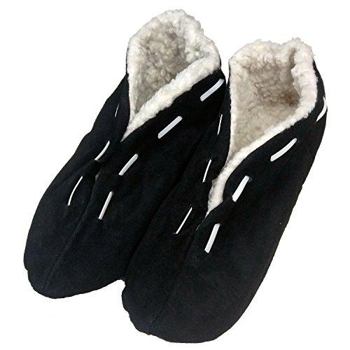 MOCUNI - Zapatillas de estar por casa para mujer marrón claro
