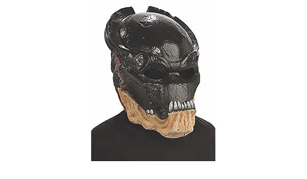 Rubies Costumes 4716 - Máscara de depredador para disfraz infantil (vinilo, 3/4): Amazon.es: Juguetes y juegos