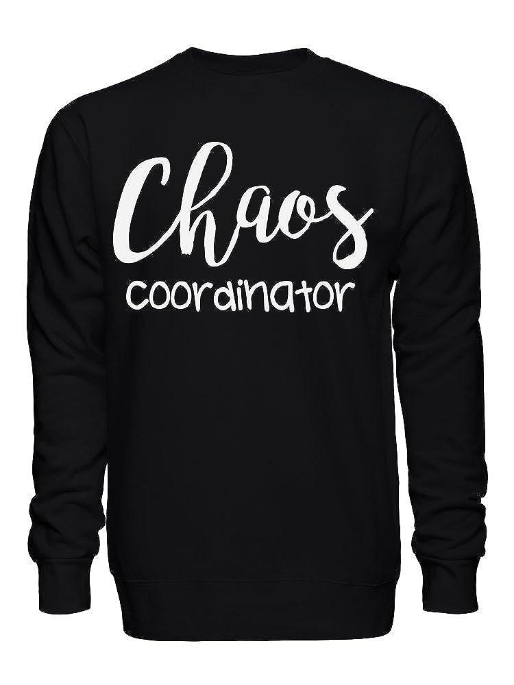 graphke Chaos Coordinator No Peace and Quiet Unisex Crew Neck Sweatshirt