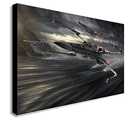 """LEGO STAR WARS b 12/""""X16/"""" A3 CANVAS PICTURE"""