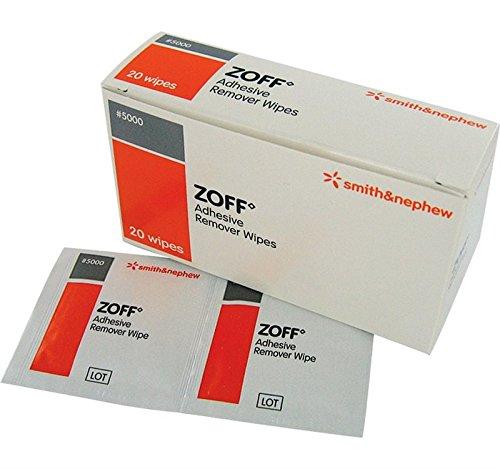Toallitas limpiadoras para residuos de adhesivos y celo, de Smith & Nephew Zoff: Amazon.es: Salud y cuidado personal