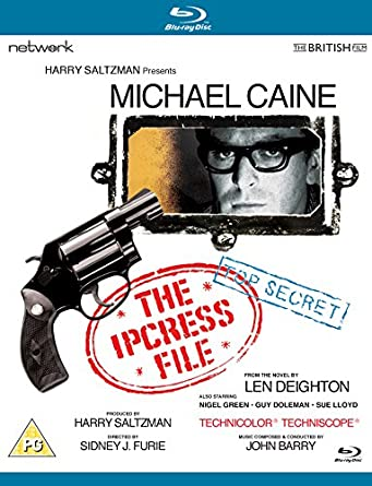 Image result for the ipcress file 1965 blu-ray