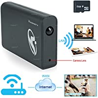 Toughsty™ 8GB 1920x1080P HD Wifi Network Hidden Camera Power Bank Motion Activated Video Recorder Support iPhone Android APP Remote View Loop Recording