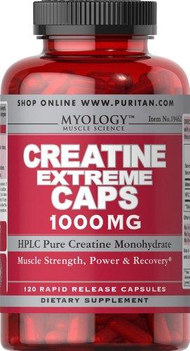 Extreme 120 Capsules (Myology Creatine Extreme 1000 mg-120 Capsules)