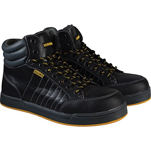 Roughneck clothing RAPTOR6 - Talla 6 retro hi-top de arranque entrenador de seguridad