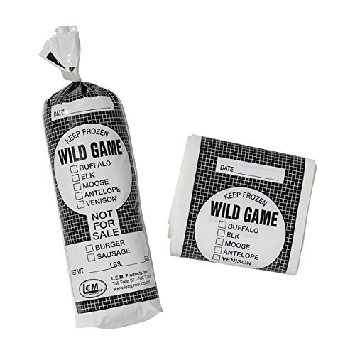1Lb Wild Game Bags- 1000 Count by LEM