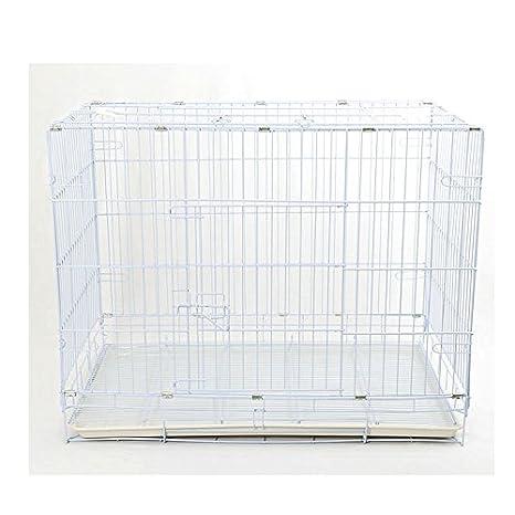 Box Perros Plegable con rejilla fondo l 90 x 60 x 70H cm: Amazon ...