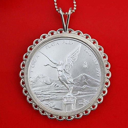2015-mexico-1-troy-oz-999-fine-silver-libertad-round-gem-bu-unc-coin-solid-925-sterling-silver-neckl