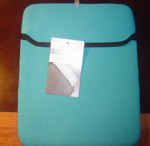 Neoprene Kindle DX ipad Netbook sleeve case Blue