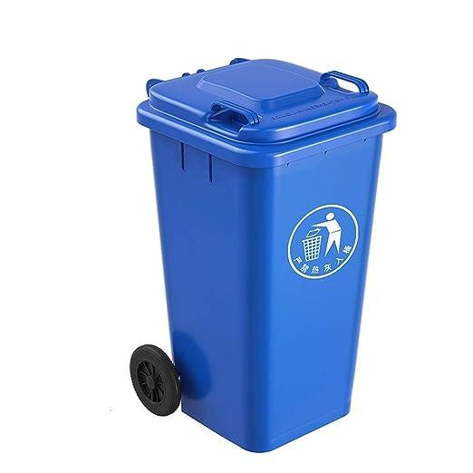 Cubos de reciclaje Caja de chatarra con ruedas de 100L ...