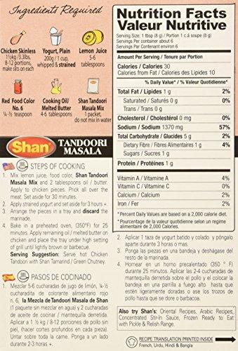 Amazon.com : Shan Tandoori Chicken BBQ Mix 1.75 Oz (Pack of 4) : Indian Food : Grocery & Gourmet Food