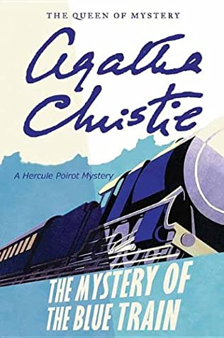 book cover of The Mystery of the Blue Train