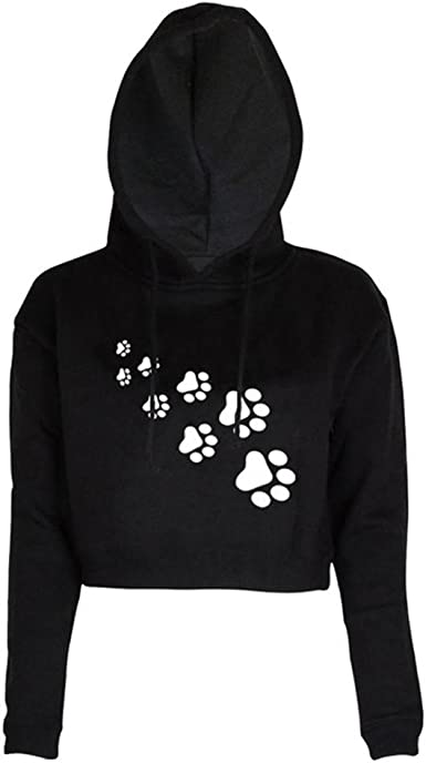Mens Hoodie Sketches of Dog Paw Prints Sweate Sweatshirt Mens Casual Hoodie Casual Top Hooded