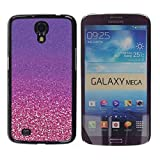 LASTONE PHONE CASE / Slim Protector Hard Shell Cover Case for Samsung Galaxy Mega 6.3 I9200 SGH-i527 / Gold Purple Copper Bling