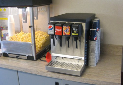 Home Soda Fountain Dispenser Machine (4 Flavor)