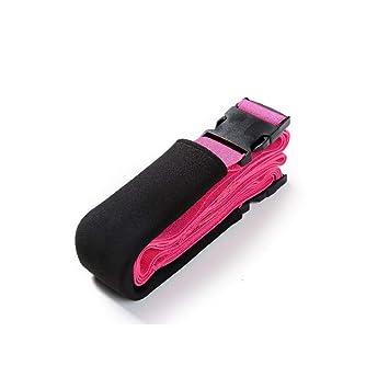 QZPMTFLY Cinturón de Yoga Cinturón de Estiramiento físico ...