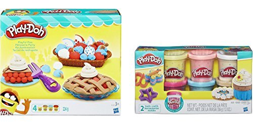 Confetti Play-Doh with Playful Pies Set Create Delightful