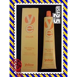 Yellow Hair Coloring Cream 3.42 (7.35 GOLDEN MAHOGANY BLONDE)