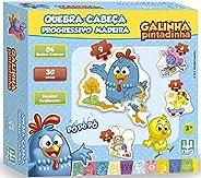 Quebra-Cabeça Progressivo Galinha Pintadinha, Nig Brinquedos