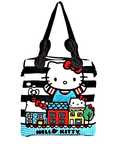 Tote Bag - Hello Kitty - Kitty Cat City Hand Bag Lady Girls New santb0371 Loungefly