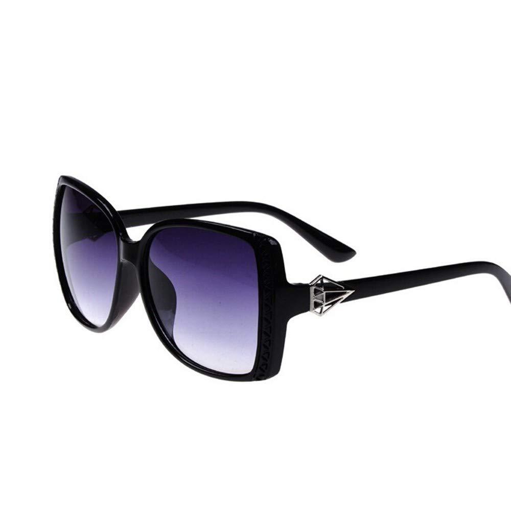 QDE Gafas de sol Gafas De Sol Femeninas con Espejo Vintage ...