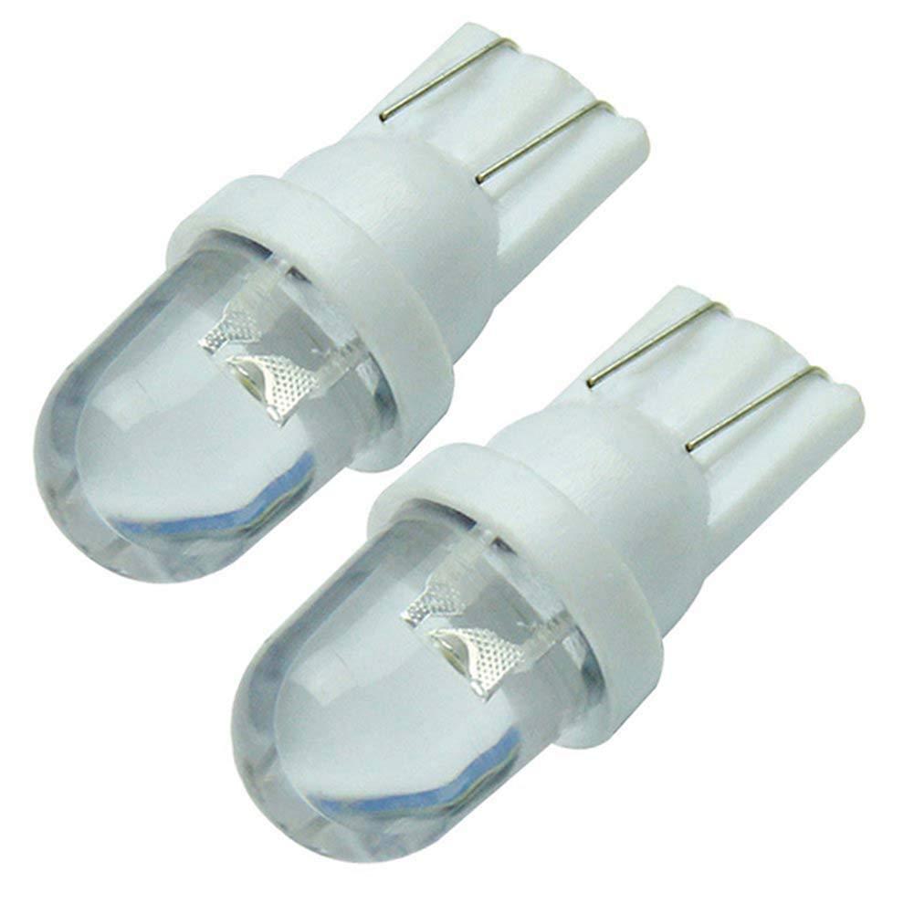 10pcs Blanco T10 LED Bombilla 12V 6500K 5W 194 168 158 Cu/ña Luz Interior del Coche Dashboard Bombilla Luz de maletero lateral Luz N/úmero Placa Bombilla