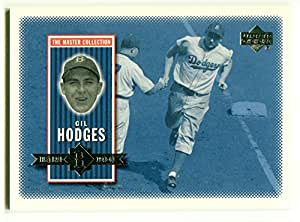 2000 Upper Deck Brooklyn Dodgers Master Collection GIL HODGES Base