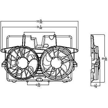 03 Mercury Sable Radiator Diagram