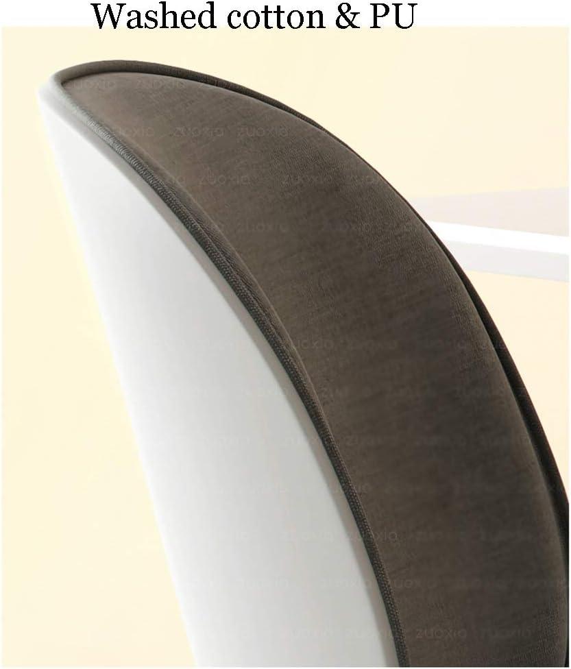Fauteuil pivotant Chaise de Bureau, Coton Demi-emballé Et Chaise Pivotante Dossier de Linge for Le Bureau D\'étude À Domicile Informatique Chaise de Loisirs (Color : Gray) Gray
