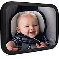 Back Seat Headrest Mounted Baby Car Mirror | New 2017 Increased Safety | Larg...
