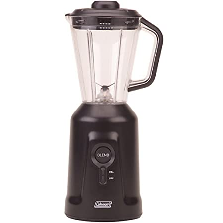 Coleman Rechargeable Portable Blender and Lid (Black Base)