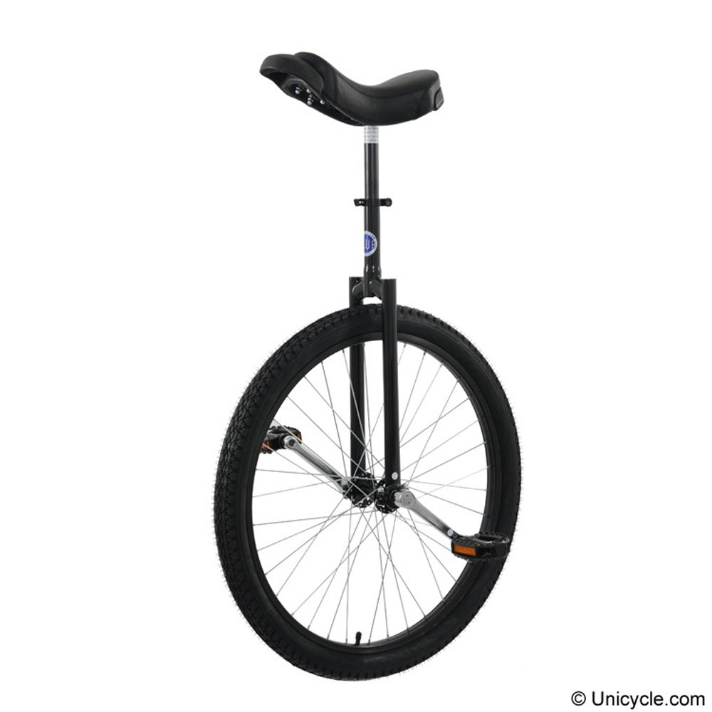 Club 26'' Freestyle Unicycle - Black by Unicycle.com