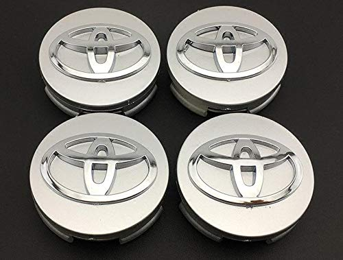 (RPOEnterprise Set of 4 Pcs Wheel Center CAPS Camry Sienna Venza Avalon Corola Prius V & S Wagon 42603-12730 Hub Caps Wheel Caps)