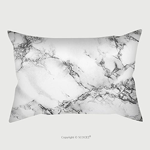 Custom Satin Pillowcase Protector Marble Marble Texture Marble Floor 594802652 Pillow Case Covers Decorative by chaoran