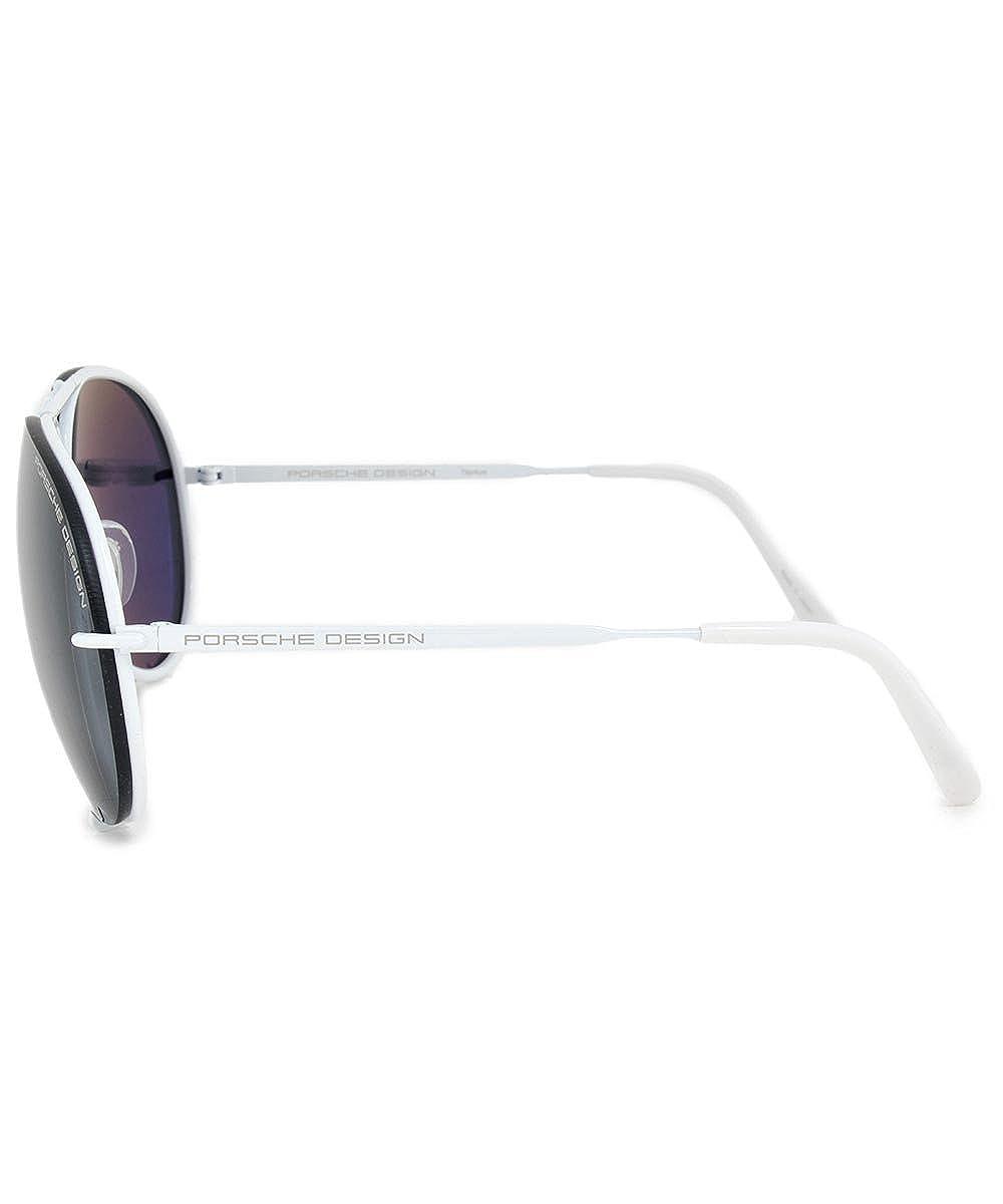 41383a2aa8d Amazon.com  Porsche P8478 P 66mm Sunglasses  Clothing