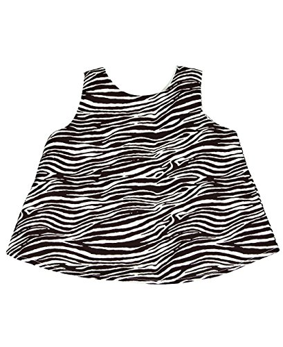 RuffleButts Baby-girl's Swing Top Zebra (6-12 - 0000 Zebra
