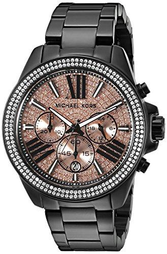 - Michael Kors Women's Wren Black Watch MK5879